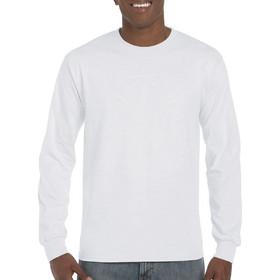 59b431e2c2a0 Ανδρικό μακρυμάνικο T-Shirt Ultra χωρίς πλαϊνές ραφές Gildan 2400 - White