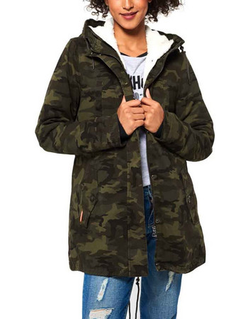 ROOKIE SHERPA MILITARY PARKA ΜΠΟΥΦΑΝ ΓΥΝΑΙΚΕΙΟ SUPERDRY G50013TP 5ac27abba9b