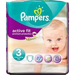 Pampers Active Fit Midi No3 4-9Kg 26τμχ d0aef5ad4c2