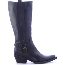 4ec8ff2861 Μαύρες Καουμπόικες Δερμάτινες Μπότες -size 36