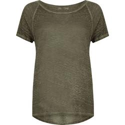 Λινή μπλούζα με lurex λεπτομέρειες SD7840.4067+5 642788881cc