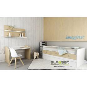 bcb4e64c7d0 Alfaset Κρεβάτι stimo με αποθηκευτικό χώρο και 2 κρεβάτι