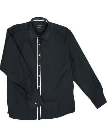 ανδρικο πουκαμισο λευκο με μαυρο - Ανδρικά Πουκάμισα  341c8495724