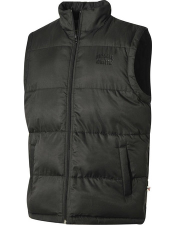 ΑΜΑΝΙΚΟ ΜΠΟΥΦΑΝ RUSSELL ATHLETIC SLEEVELESS JACKET ΜΑΥΡΟ A8-009-2-099 d667882abb7