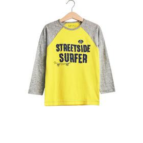 1aa8b0c93ab Παιδική μπλούζα με απλικέ γράμματα (2 - 9 ετών) Esprit - RL1018401 - Κίτρινο