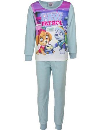 eacaf7e422d Παιδικές Πυτζάμες Fleece Χρώματος Τιρκουάζ Paw Patrol Disney DHQ2105