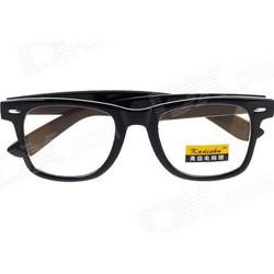 010248255c Γυαλιά για τον υπολογιστή Retro Anti-Radiation UV Protection Computer  Glasses - Black (Size