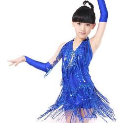a060b774027 Παιδική Latin Στολή χορού με κρόσσια L05 7705