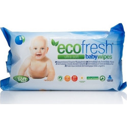 Asepta Ecofresh Baby Wipes 72τμχ