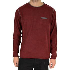 8b5a1e4ce484 New Look μπορντό πλεκτή μακρυμάνικη μπλούζα 163400B