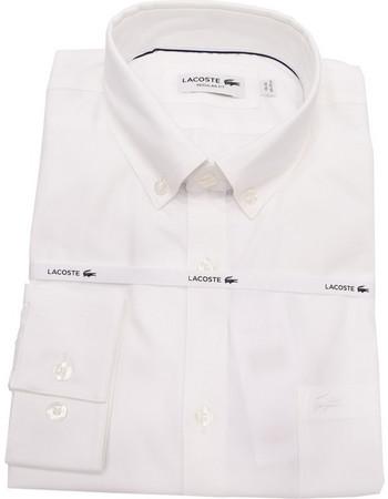 ανδρικα πουκαμισα ασπρα - Ανδρικά Πουκάμισα Lacoste  8ceafc6bdd4