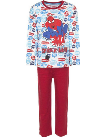 Παιδικές Πυτζάμες Χρώματος Κόκκινο Spiderman Disney EP2037 8f6089f4ea7