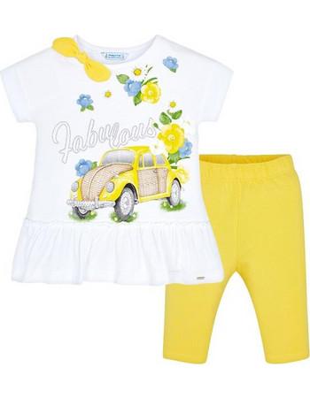 Παιδικό Σετ-Σύνολο Mayoral 29-03509-085 Κίτρινο Κορίτσι b229d6ba8bf