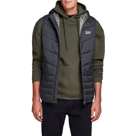 b11252f4bdf Ανδρικά Μπουφάν Jack & Jones Αμάνικο Με Κουκούλα Mens Jackets & Coats  Ανθρακί 12138351