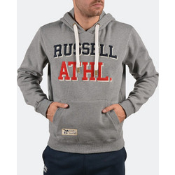 RUSSELL ATHLETIC DOUBLE FELT APPLIQUE HOODY A7-610-2-090 9735a573878