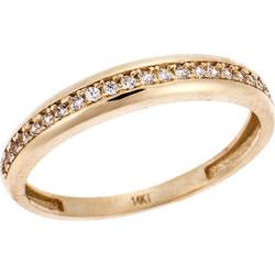 Σειρέ Χρυσό Δαχτυλίδι 14Κ με Swarovski 044e64ae89c