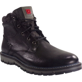 Kricket Shoes Ανδρικά Μποτάκια Αρβυλάκια 3500 Μαύρο Δέρμα kricket 3500 mauro 55239de259d