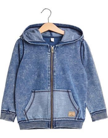 Παιδική ζακέτα φούτερ denim (2-9 ετών) Esprit - RL1702402 - Μπλε 200c9a781ca