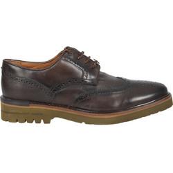 BRIMARTS δερμάτινο δετό παπούτσι 312088G καφέ e54e318ec1d
