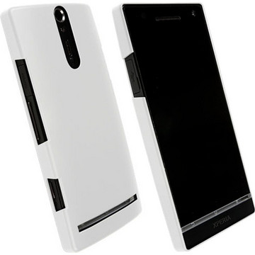 Krusell ColorCover White (Xperia S)