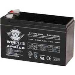 ΜΠΑΤΑΡΙΑ ΜΟΛΥΒΔΟΥ 12V 7AH WINNER APOLLO AGM GENERAL USE