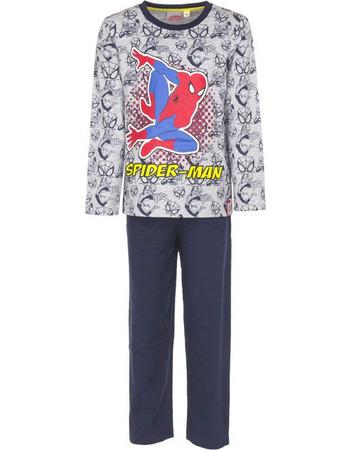 Παιδικές Πυτζάμες Χρώματος Σκούρο Γκρι Spiderman Disney EP2037 383fe7f6219