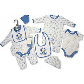 f6b6e1b9518b Αγγλικό Σετ Δώρου 100% cotton, 5 τεμαχίων - της Nursery time GP0792 nursery  time